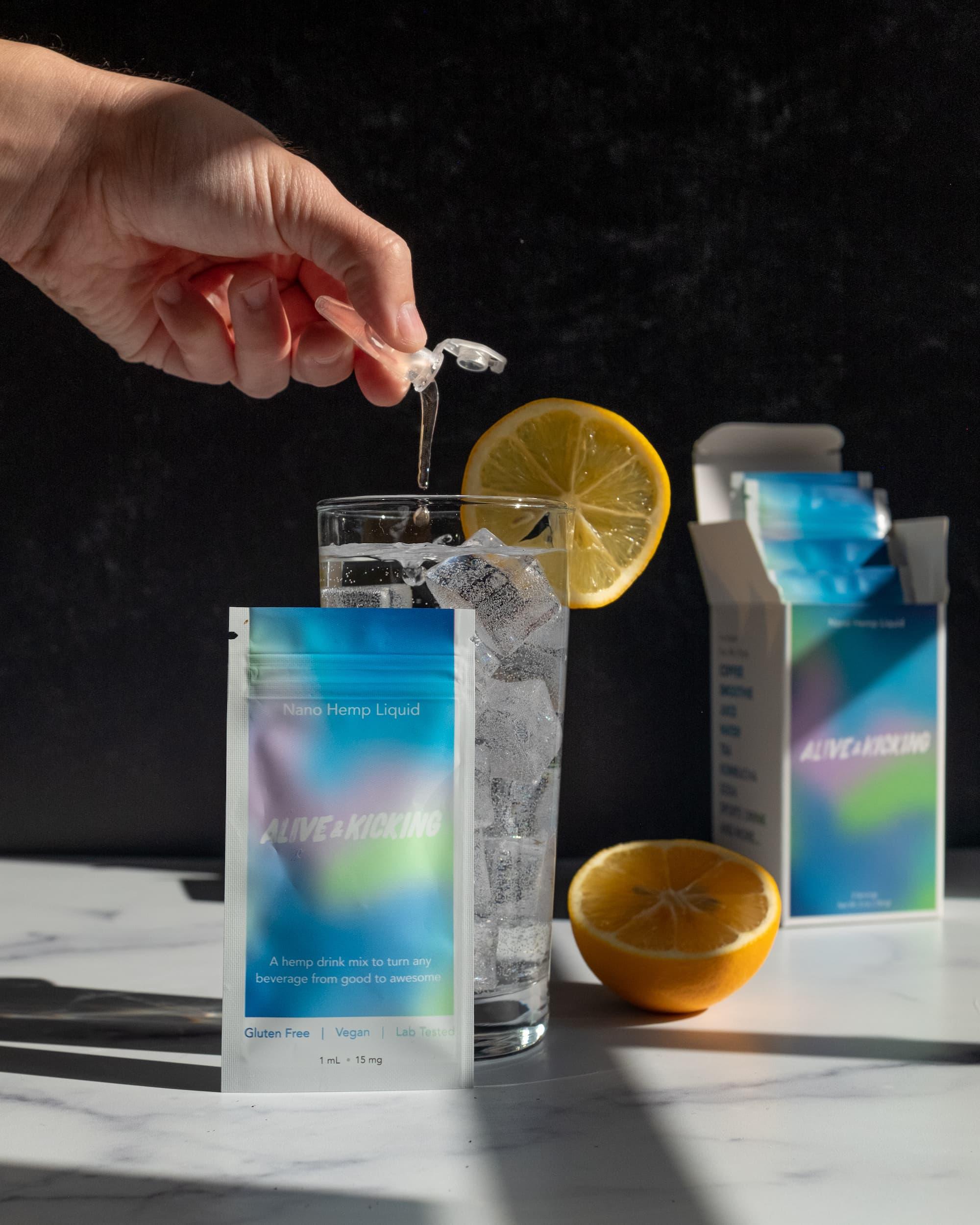 Nano Hemp Drink Mix